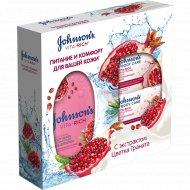 Набор «Johnson's» гель для душа, 250 мл + мыло, 125 г, 2 шт.