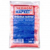 Крабовые палочки «Эконом Маркет» замороженные, 200 г