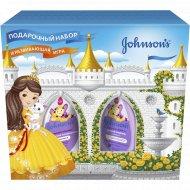 Подарочный набор «Johnson's» сильные локоны для девочек, 300 мл+ 200 мл.