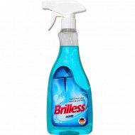 Средство для мытья стекол «Brilless» ocean, 0.5 л.