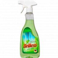Средство для мытья стекол «Brilless» green apple, 0.5 л.
