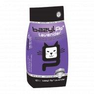 Наполнитель для туалета «Bazyl» Compact Parfume Lavender, 5.3 л.