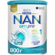 Смесь сухая молочная «NAN-1» для детей с рождения, 800 г