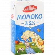 Молоко «Моя Славита» ультрапастеризованное, 3.2%, 1000 мл
