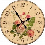 Часы настенные «Роза».