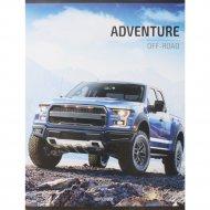 Тетрадь «Off-road adventures» клетка, 96 листов.
