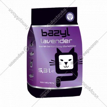 Наполнитель для туалета «Bazyl» Lavender, 5.3 л.