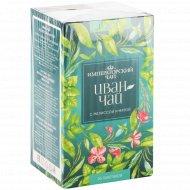 Напиток чайный «Иван-чай» с мелиссой и мятой, 20 пакетиков.