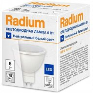 Светодиодная лампа «Radium» RL MR16 75 6W 220 WFL 840 GU5.3.