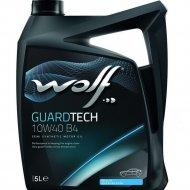 Масло моторное «Wolf» Guardtech, 5 л.