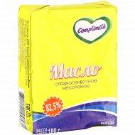 Масло «Сладкосливочное» несоленое 82.5%, 180 г.