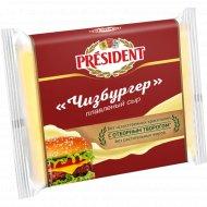 Сыр плавленый «President» Чизбургер, 40%, 150 г