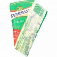 Сыр полутвердый «Дорблю» 50%, с благородной голубой плесенью, 100г.