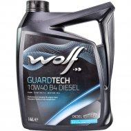 Масло моторное «Wolf» Diesel, 10W-40, 4 л