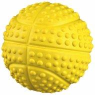 Игрушка для собаки «Мяч» со звуком, 7 см