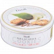 Печенье «Tivoli» с карамелью, молочным шоколадом и грушей, 150 г.