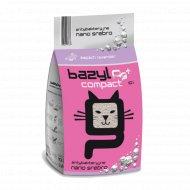 Наполнитель для туалета комкующийся «Bazyl» compact baby powdert, 10 л.
