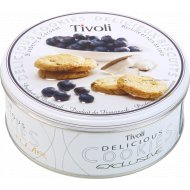 Печенье «Tivoli» с черникой и кокосом, 150 г.