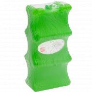 Хладоэлемент пластмассовый для жестяных банок 21х10х5 см, 620 г.