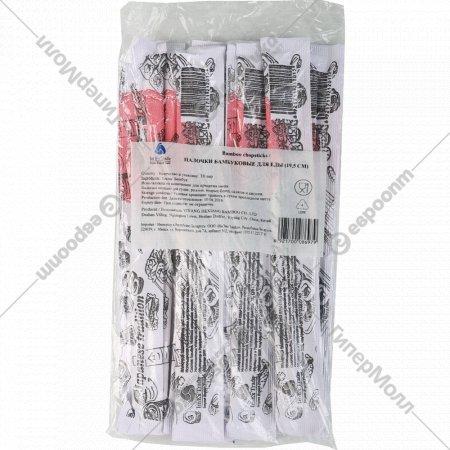 Палочки бамбуковые для еды 19,5 см, 1 упаковка.