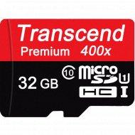 Карта памяти «Transcend» 32GB, Class 10.