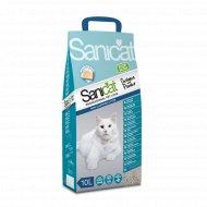 Наполнитель для туалета «Sanicat» CLEAN OXYGEN POWER впитывающий, 10 л.
