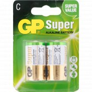 Элемент питания «GP» Super, LR14, 2 шт.