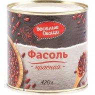 Фасоль красная «Веселые овощи» 420 г.