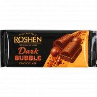 Черный шоколад «Roshen» пористый экстрачерный, 85 г.