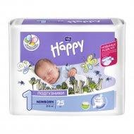 Подгузники для детей «Bella Baby Happy» newborn 2-5 кг, 25 шт.