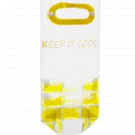 Сумка изотермическая пластмассовая для бутылки 9.5 х 35.5 см.