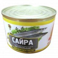 Рыбные консервы «Сайра» с добавлением масла 250 г