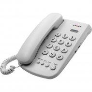 Проводной телефон «TeXet» TX-241, светло-серый