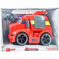 Детская инерционная машинка «Пожарная машина».