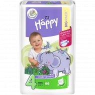 Подгузники «Bella Baby Happy» Maxi, размер 4, 8-18 кг, 66 шт.