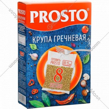 Крупа гречневая «Prosto» ядрица, 8 х 62.5 г.