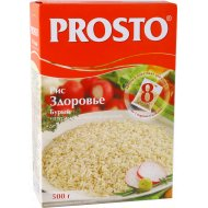 Рис «Prosto» бурый, 8 х 62.5 г.