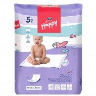 Пеленки гигиенические детские «Bella Baby Happy» 90 х 60, 5 шт.