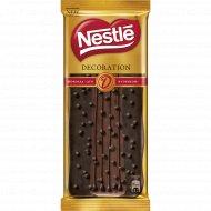Горький шоколад «Nestle Decoration Duo» с содержанием какао 70%, 85 г.