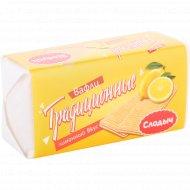 Вафли «Слодыч» традиционные со вкусом лимона, 100 г