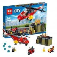 Конструктор «Lepin» 02046, Пожарная команда быстрого реагирования.