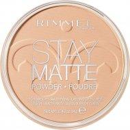 Пудра «Rimmel» Stay Matte, тон 004, 14 мл.