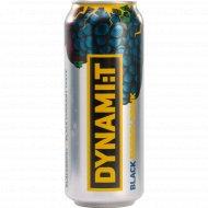 Напиток «Dynami:T» Black Energy Drink, 0.5 л.