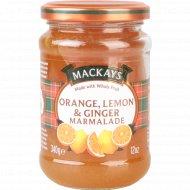 Десерт фруктовый «Mackays» из апельсина, лимона и имбиря 340 г.
