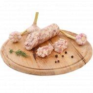 Грудинка «С чесноком» в оболочке, 1 кг., фасовка 0.34-0.35 кг