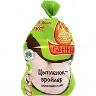 Тушка цыпленка-бройлера «Халяль» охлажденная, 1 кг., фасовка 1.8-2.2 кг