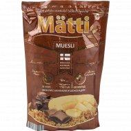Мюсли «Matti» с бананом и шоколадом, 250 г.