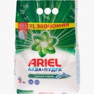 Стиральный порошок «Ariel» Горный Родник, Автомат, 4 кг
