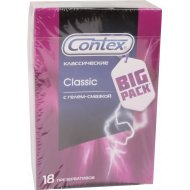 Презервативы «Contex Classic» гладкие, 18 шт