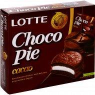 Печенье «Choco Pie» Lotte, какао, 336 г.